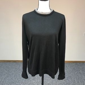Marled Reunited Clothing Black Knit Sweater Size L